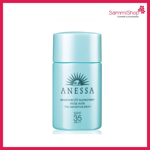 Anessa Essence UV Sunscreen Skincare Mild Milk 20ml ( Nhập khẩu)