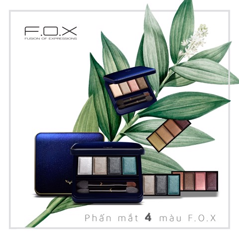 FOX Phấn mắt Eyeshadow Palette - (6.5g) (IP01)