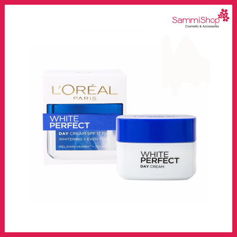 Loreal White Perfect Whitening and Even Tone Day Cream SPF17 PA++ 20ml (Nhập khẩu)