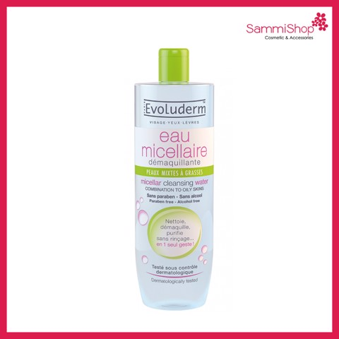 Evoluderm micellar cleansing water 500ml