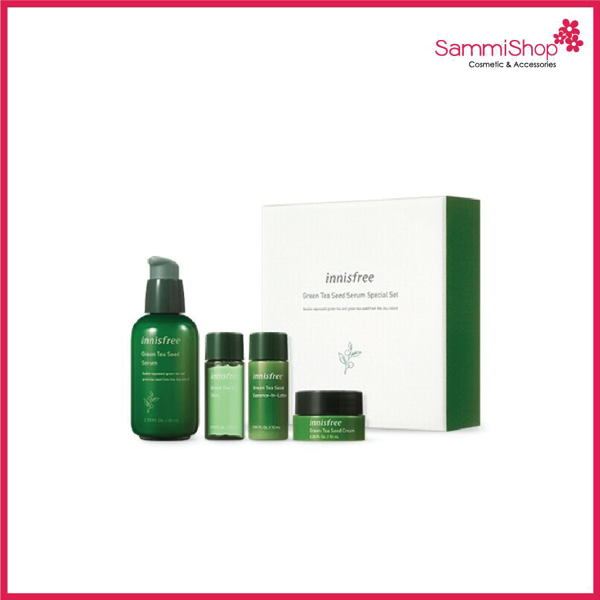 Innisfree Green Tea Seed Serum Special Set (4 items)