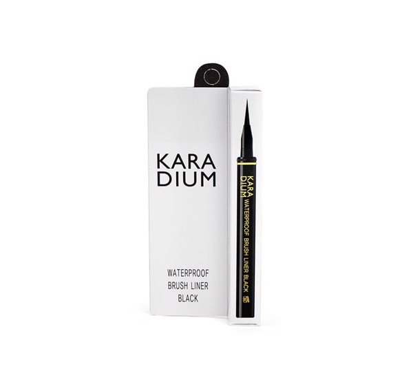 Karadium waterproof Brush Liner Black