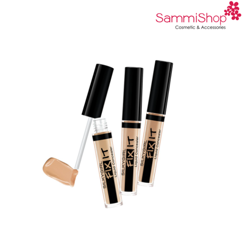 Kem che khuyết điểm Silky Girl Fix It Liquid concealer 2ml