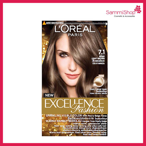 Loreal Excellence Fashion Sparklling Visible Color