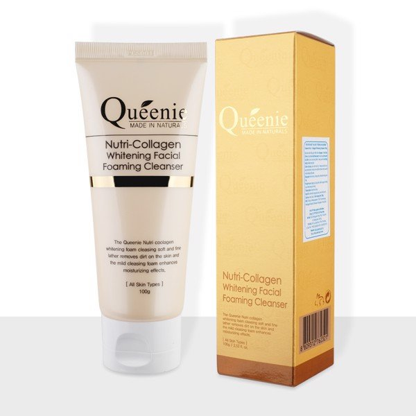 Queenie Sữa rửa mặt Nutri-collagen Whitening Cleanser (100g) (IP01)