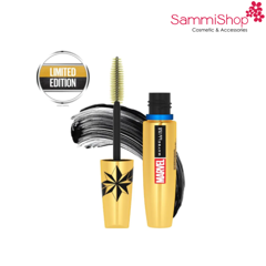 Mascara phiên bản Marvel Maybelline The Colossal Instant Big Volume Mascara Waterproof màu đen(IP01)