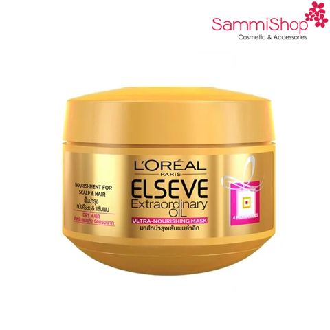 Loreal Elseve Extraordinary Oil Mask 200ml