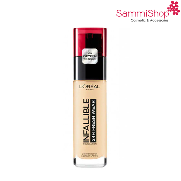 Loreal Infallible 24h Fresh Wear Foundation Vanilla  (IP01)120