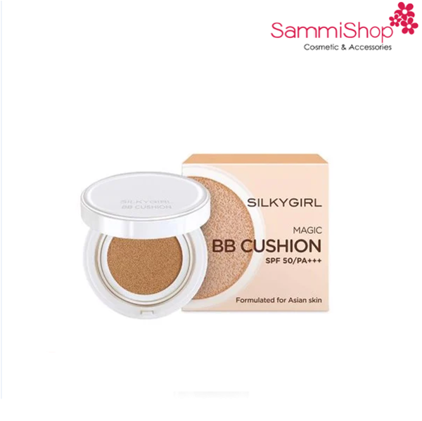 Silky Girl Magic BB Cushion SPF50/PA+++