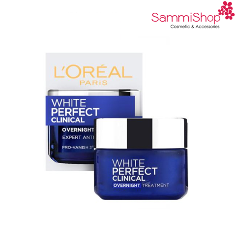 Loreal White Perfect Clinical  OverNight Treatment 50ml ( IP01)
