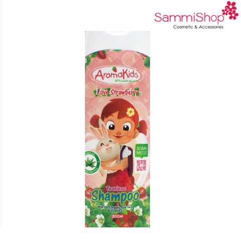 Dầu gội Aromakids Love Strawberry Tearless Shampoo 300ml (IP02)