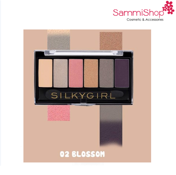 Bảng mắt Silky Girl Truly Nude Eye Shadow Palette # 02 Blossom(IP01)