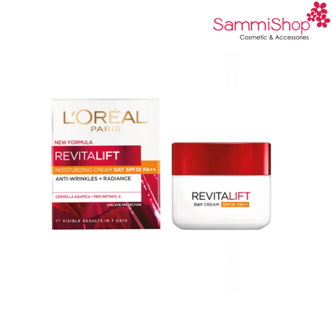 Loreal Revitalift Anti-Wrinkle + Firming Cream Day SPF35/PA++ 50ml