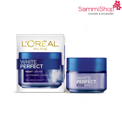 Loreal White Perfect Night Cream