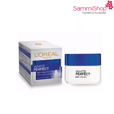 Loreal White Perfect Whitening and Even Tone Day Cream SPF17 PA++ 50ml