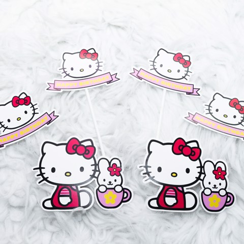 Sticker - Chủ đề Hello Kitty