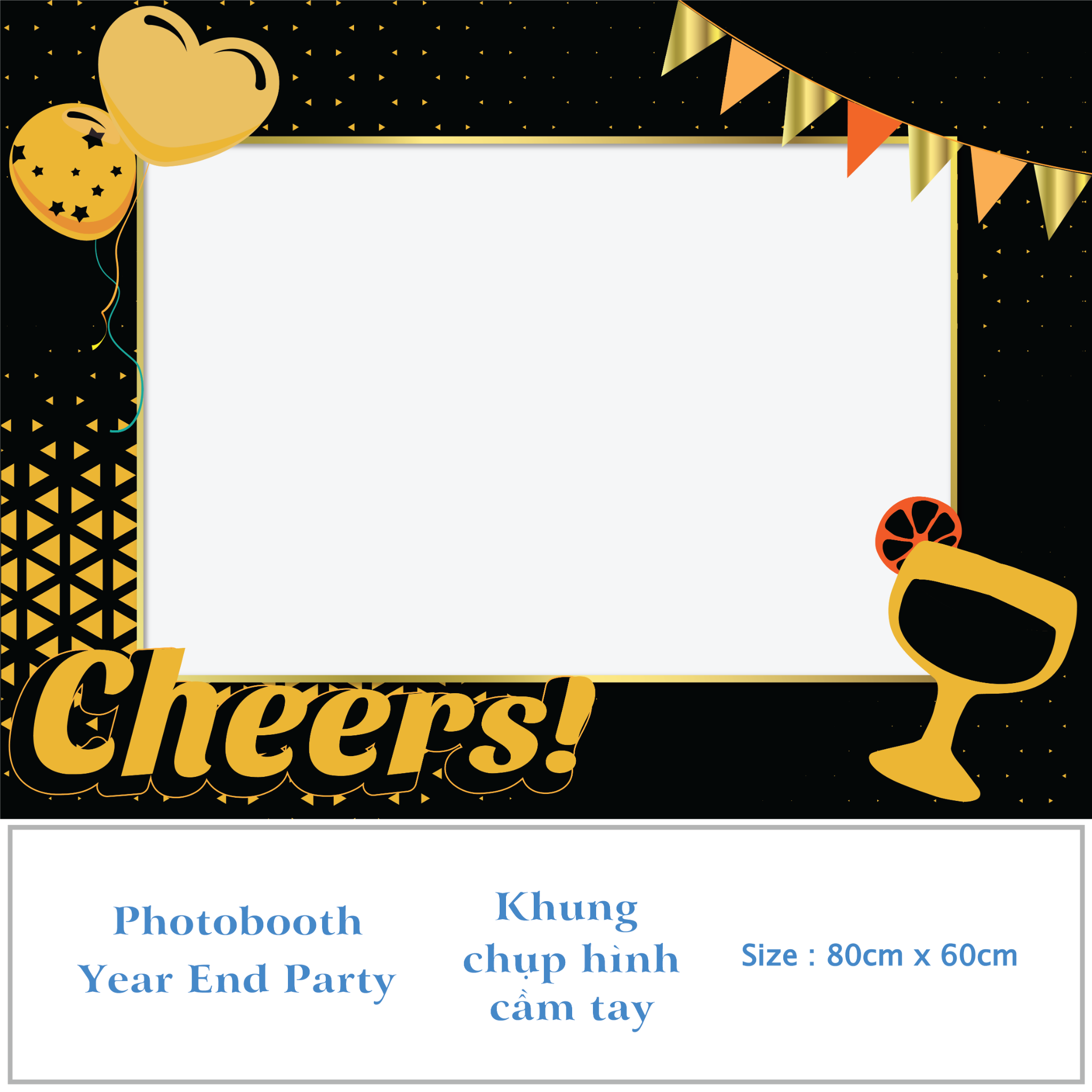 Photobooth - Year End Party - Mẫu 01