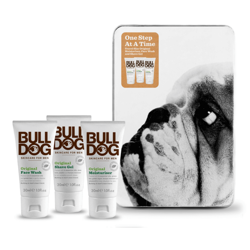 bulldog skincare travel size luxury box
