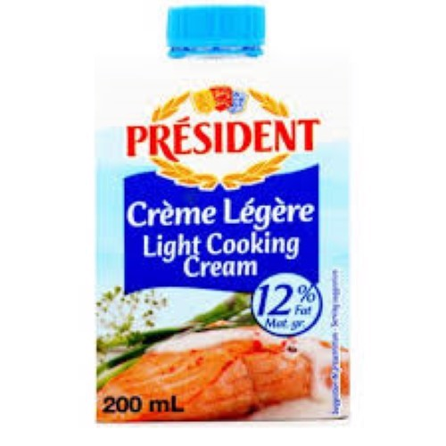 KEM TƯƠI ALL USES LIGHT CREAM HIỆU PRESIĐENT 200ML
