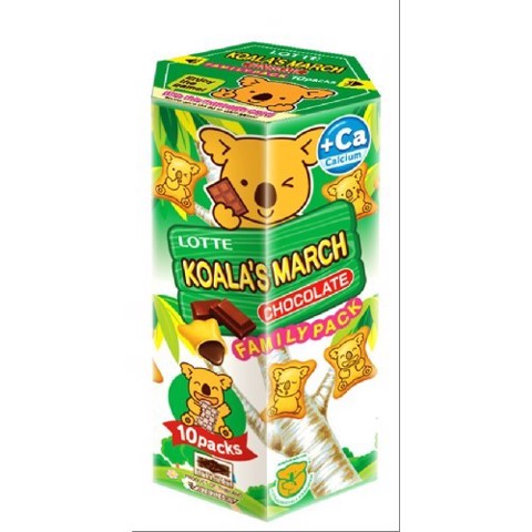 BÁNH GẤU KOALA MARCH CHOCO 195G