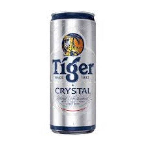 BIA TIGER CRYSTAL 330ML