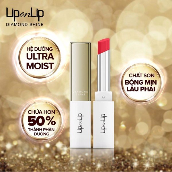 SON LIP ON LIP DIA SHINE 2.2G HỒNG TÍM