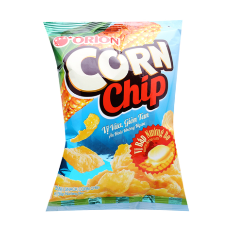 SNACK CORN CHIP BƠ 35G