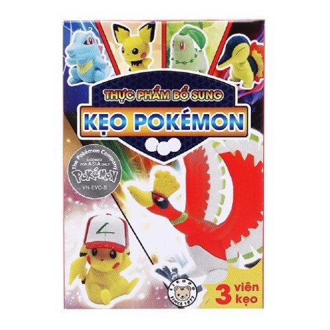 KẸO POKEMON 12G