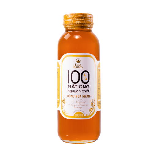 MẬT ONG KING HONEY HOA NHÃN 300ML