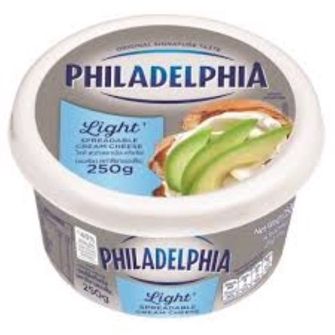 PHILADEL LIGHT CREAM CHEESE 250G