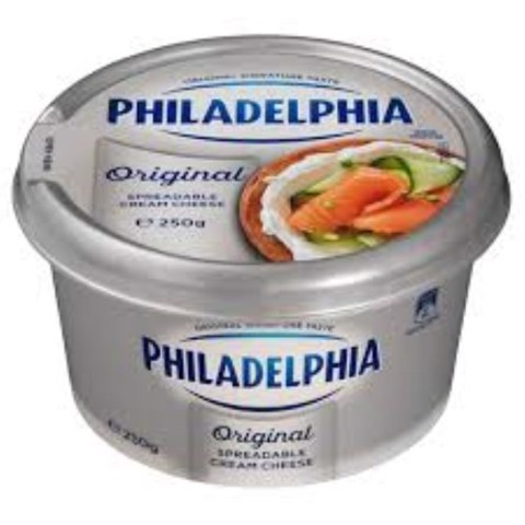 PHILADEL ORIGINAL CREAM CHEESE 250G