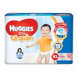 HUGGIES QUAN PANTS JUMBO XL32 *4