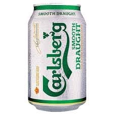 BIA CARLSBERG SMOOTH 330ML*24