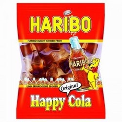 Kẹo dẻo Haribo Happy Cola Sour Fresh 80g