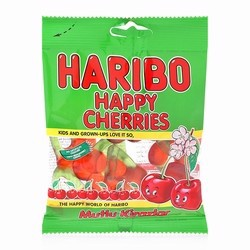 Kẹo dẻo Haribo Happy Cherries 80g