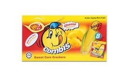 Bánh Cornbis Sweet Corn Crackers 144g