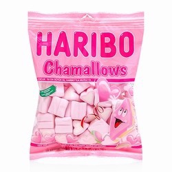 Kẹo xốp Haribo Chamallows Hearts 150g