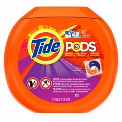 Túi giặt Tide pods spring meadow 64oz-72counts