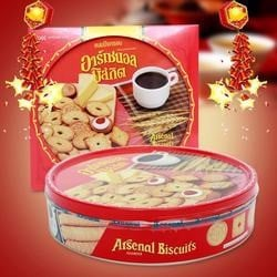 "Bánh quy ""Arsenal""Assorted Biscuits 380g"