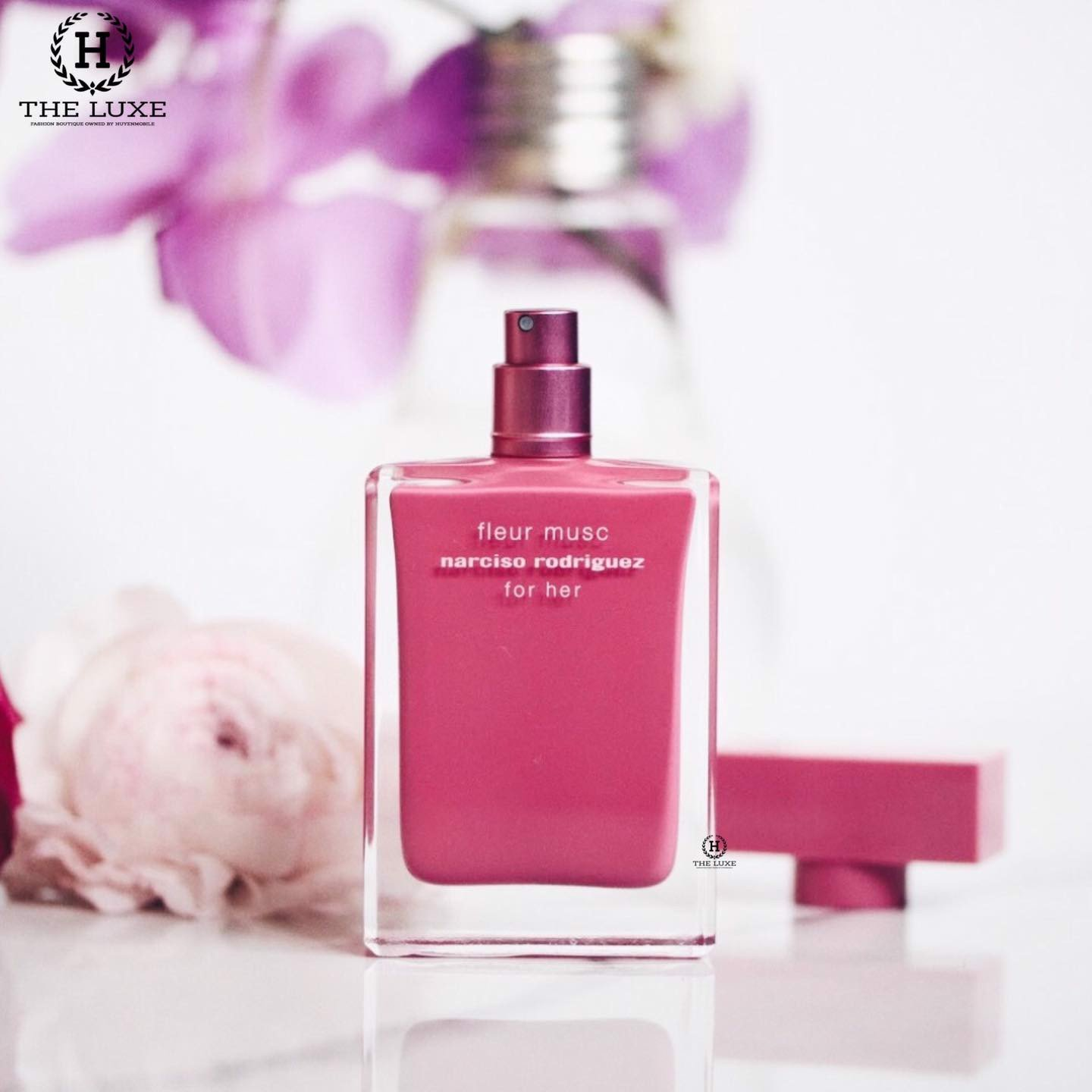 Narciso Fleur Musc For Her Hồng Đậm