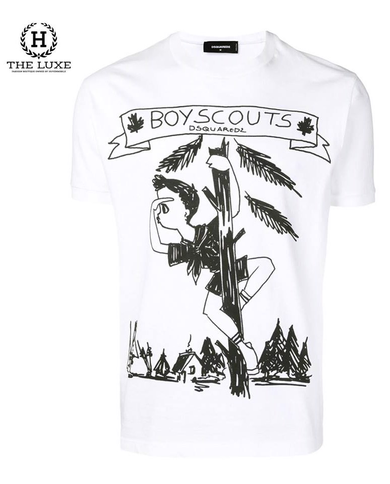 T shirt Dsquared Boyscouts New season 2019