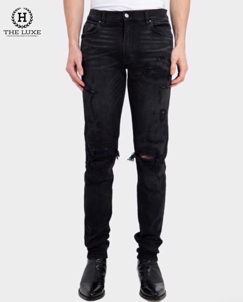 AMIRI Super Repair Jean Black