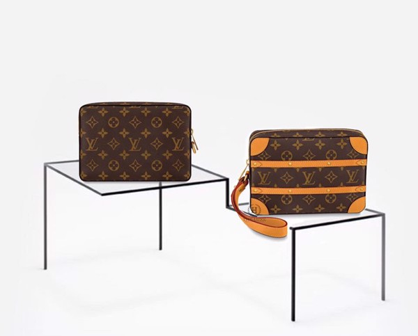 Clutch Soft Trunk Pouch Louis Vuitton