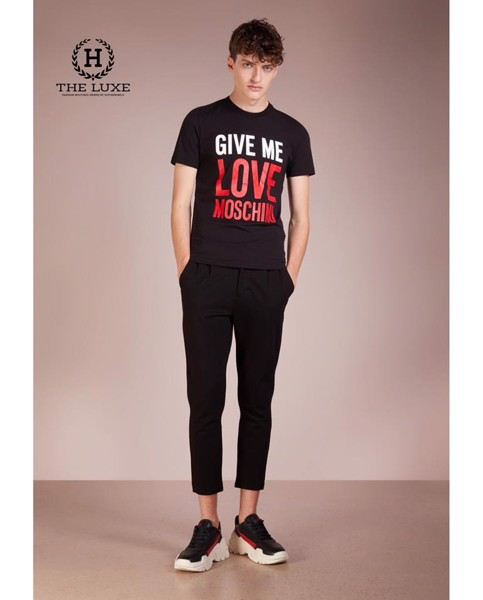 T-shirt Give Me Love Moschino