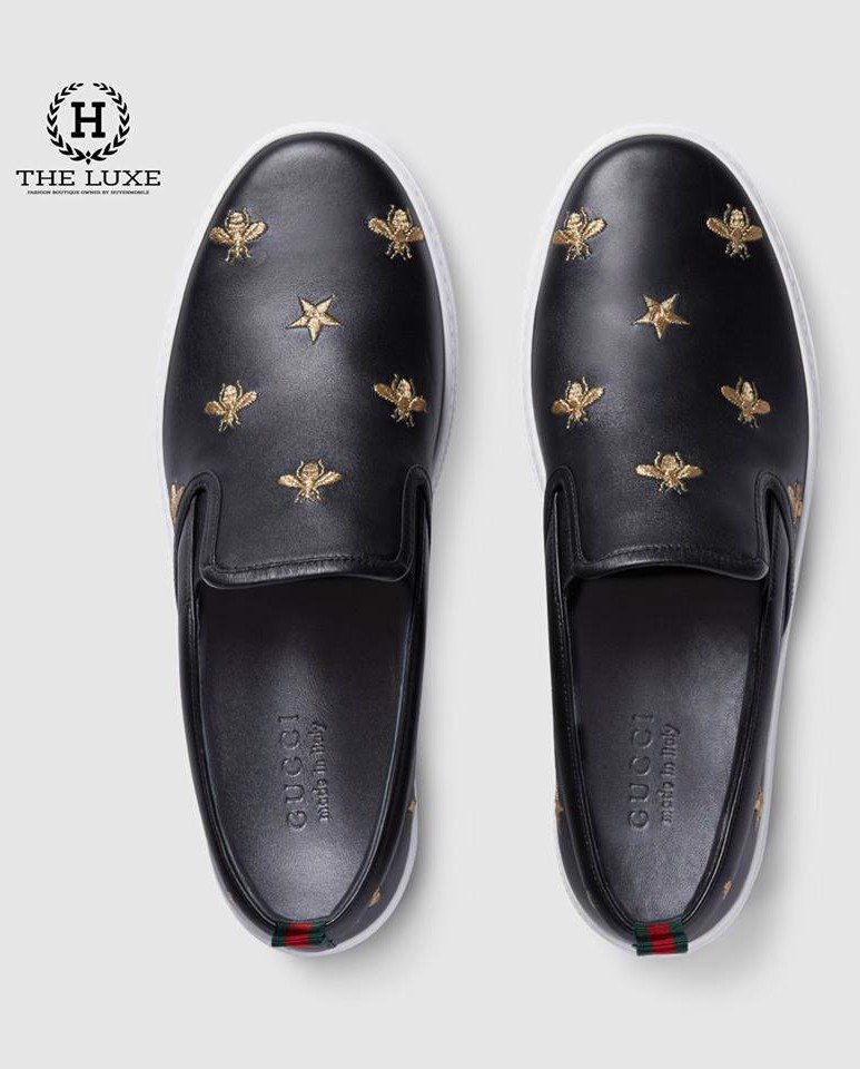 Slipon Gucci Bee Star