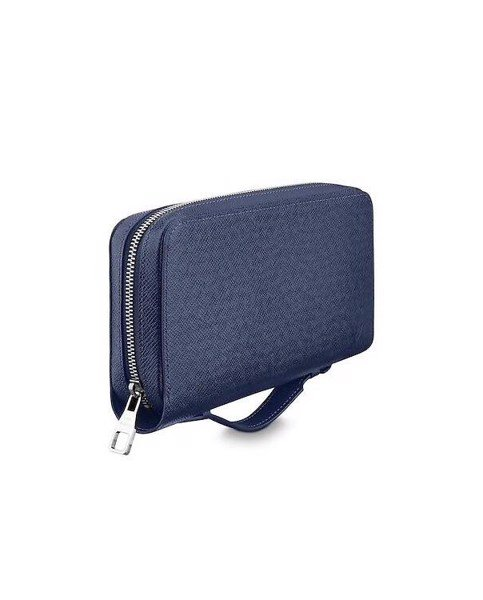 Zippy XL Louis Vuitton xanh navy Graphite