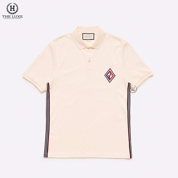 Polo Gucci Logo GG Xanh Đỏ New Season 2020