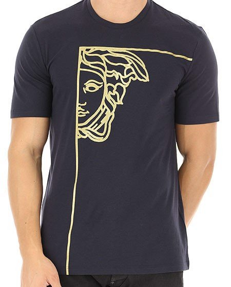 T-shirt Versace Collection Họa Tiết Medusa