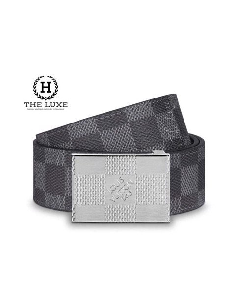SKYLINE 35MM REVERSIBLE BELT LOUIS VUITTION