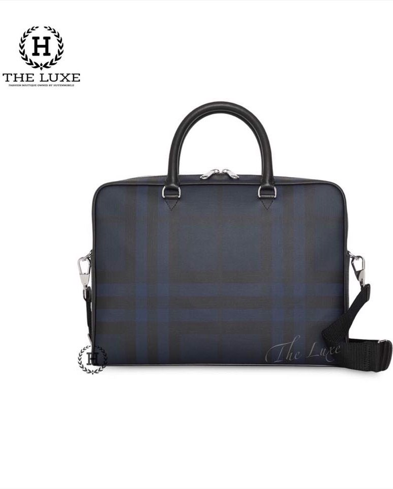 Laptop Bag Burberry Navy